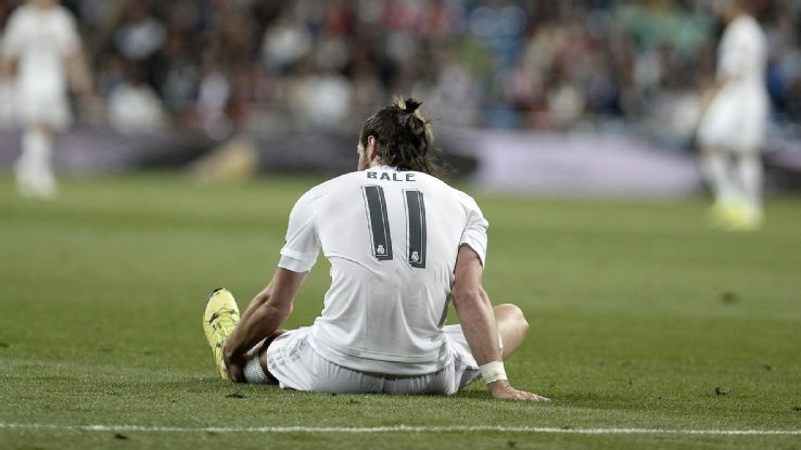 Bale injured again, will miss the match with Roma