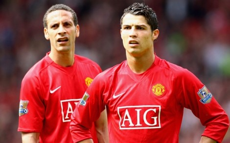 """Rio Ferdinand: """"With Ronaldo, of Manchester only mocking"""""""