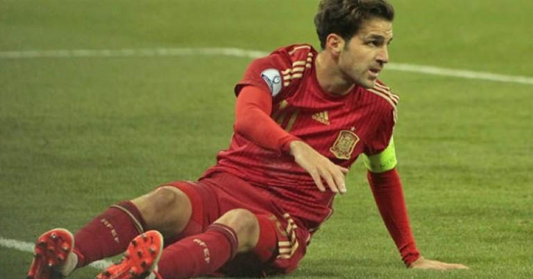 UEFA surprising Fabregas
