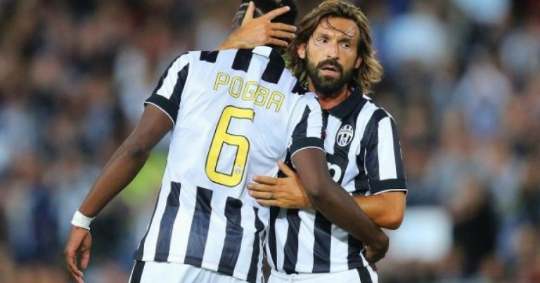 Pirlo: I played with a lot of players, but Pogba …